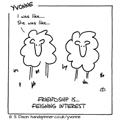 Feigning interest