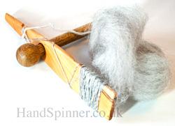 Mayan Paddle Spinner or Rakestraw spinner - Yew / Oak