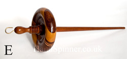 Top-whorl drop spindles - Rosewood